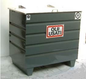 Container for Oil - Double Drum